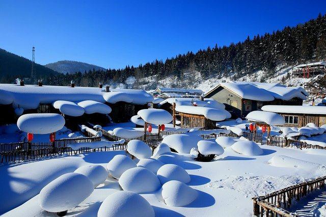 中国延边雪乡风景区