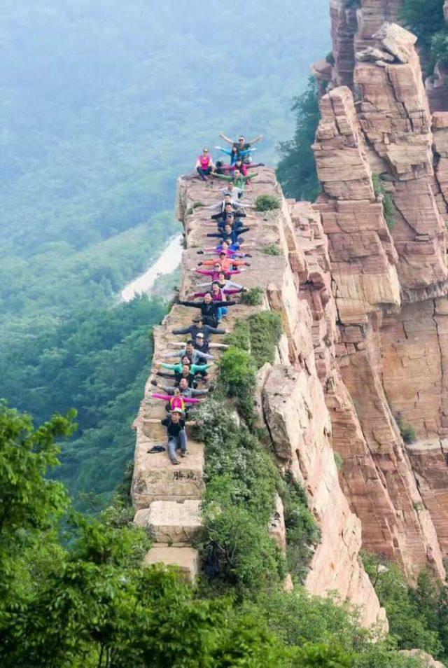 【龙】九女峰嶂石岩爬山逃票逛景区